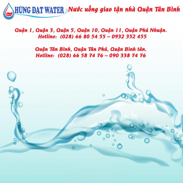 Nước uống giao tận nhà Quận Tân Bình