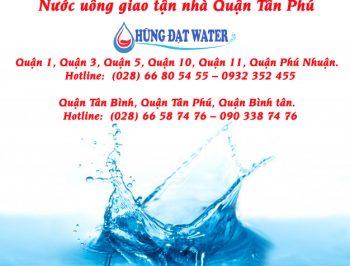Đại lý giao nước uống tận nhà Quận Tân Phú
