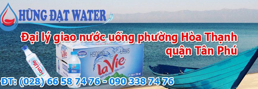 Đại lý giao nước uống phường Hòa Thạnh quận Tân Phú