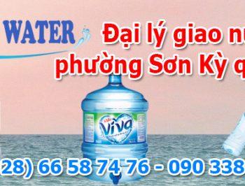 Đại lý giao nước uống phường Sơn Kỳ quận Tân Phú