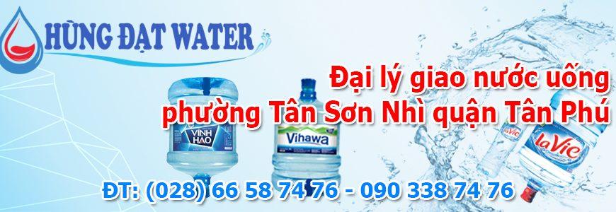 Đại lý giao nước uống phường Tân Sơn Nhì quận Tân Phú