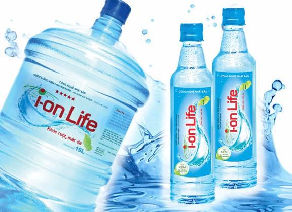 Nước kiềm Ion Life