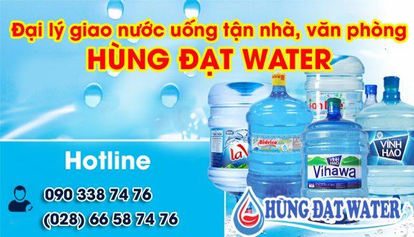 Đại lý giao nước uống Hùng Đạt Water